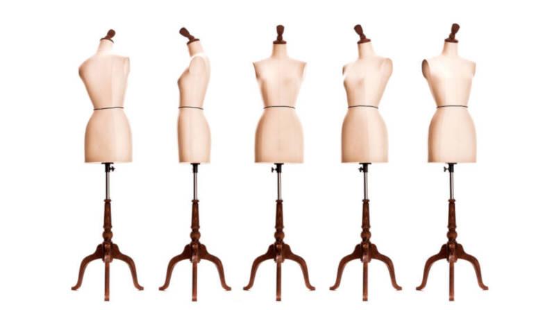 Manichini, bambole in legno e modelli in cera